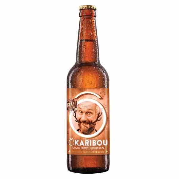 Bière Gamme Ô - ÔKaribou Rousse 6% - 341ml