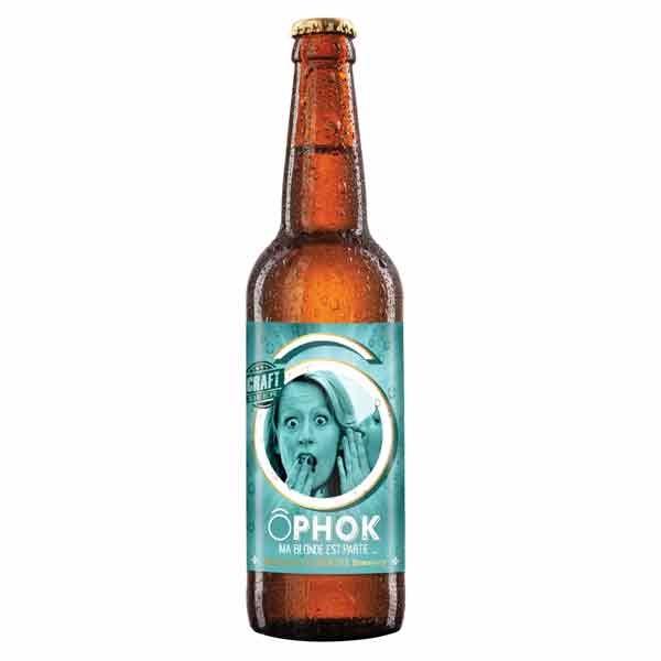 Bière Gamme Ô - ÔPhok Blanche 4.5%