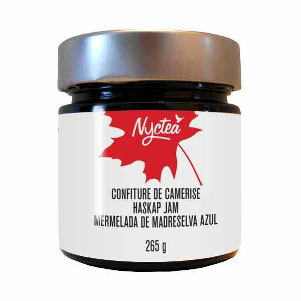 Confiture de camerise  265g*_*Haskap Jam  212 mL*_*Mermelada de Madreselva azul 212 mL