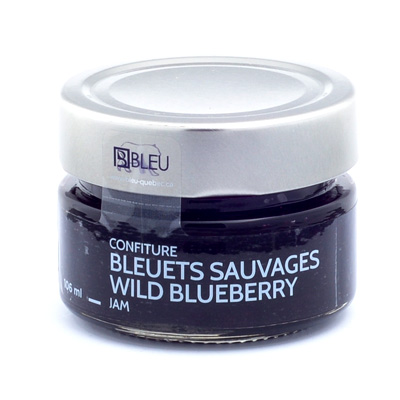 Confiture de bleuets sauvages 106 mL*_*Wild Blueberry Jam 106 mL*_*Mermelada de arándanos silvestres 106 mL