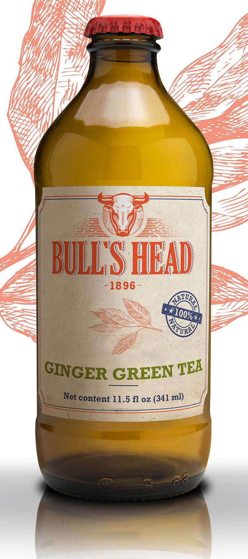 Thé Vert Gingembre 341 mL*_*Ginger Green Tea 341 mL*_*Té Verde Jengibre 341 mL