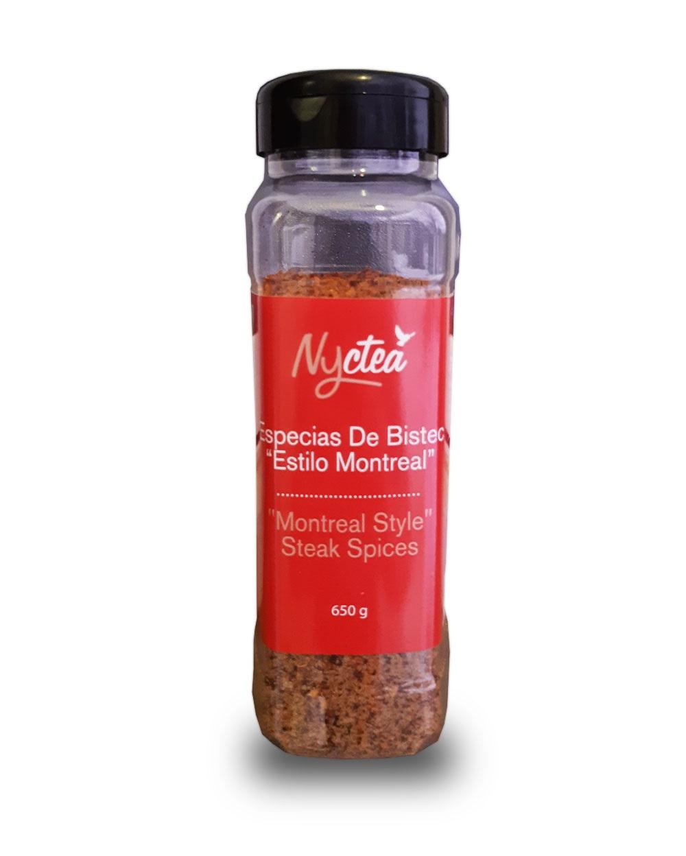 """Épices à steak de Montréal 650 g*_*Montreal Style Steak spices  650 g*_*Especias De Bistec """"Estilo Montreal"""" 650 g"""
