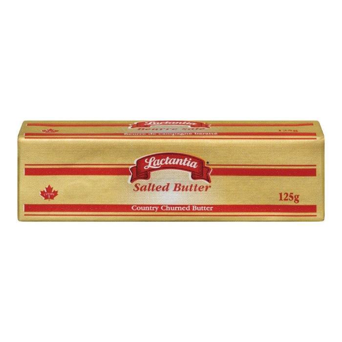 Beurre salé 125 g*_*Salted Butter 125 g*_*Mantequilla salada 125 g