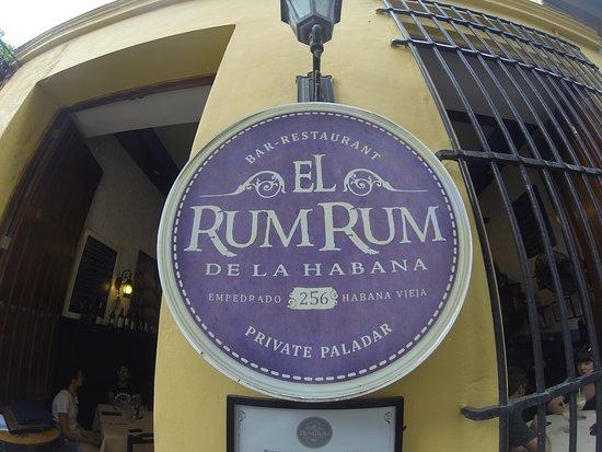 Restaurante Rum Rum de la Habana