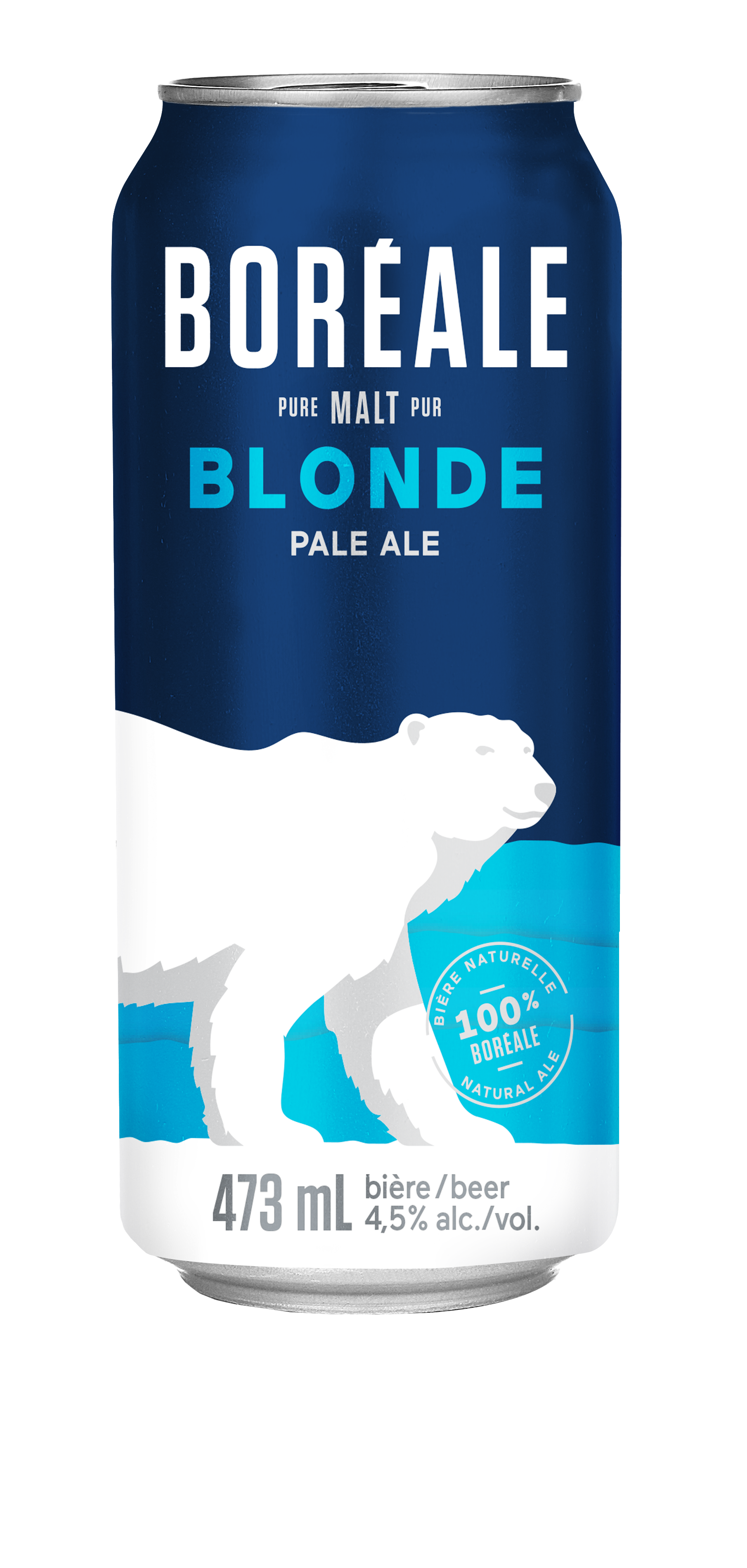 Bière Blonde de type Ale 473 mL - canette*_*Beer Blonde type Ale 473 mL - can*_*Cerveza Blonde 473 mL - Lata