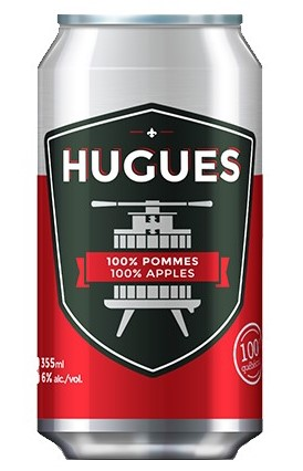 HUGUES 100% Pommes 355 mL*_*HUGUES 100% Apples 355 mL*_*HUGUES 100% Manzanas 355 mL