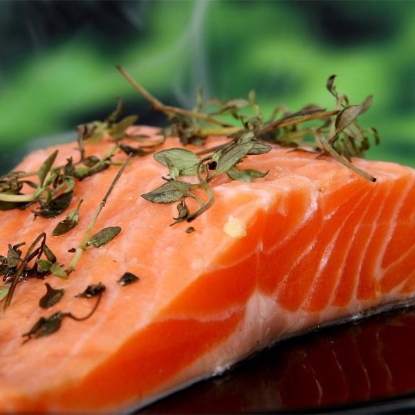 2 pavés de saumon sauvage Coho du pacifique (Canada) - sachet de 250g